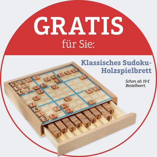 Gratis - Sudoku-Holzspielbrett