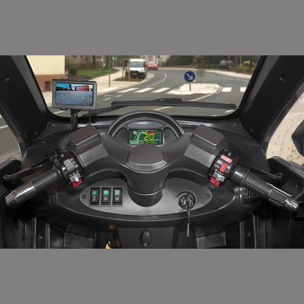 Ansicht des Cockpits