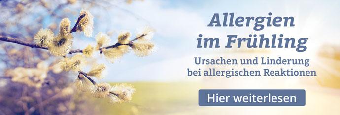 Ursachen und Linderung bei allergischen Reaktionen