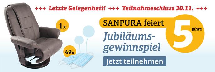 Letzte Chance - Nehmen Sie am Sanpura-Gewinnspiel teil