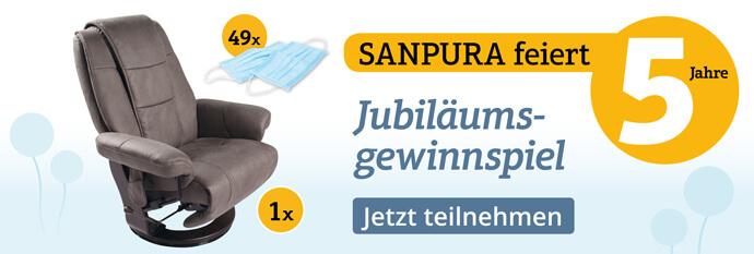 Nehmen Sie am Sanpura-Gewinnspiel teil