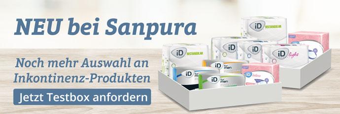 Mehr Auswahl an Inkontinenzeinlagen und -hosen auf Sanpura.de