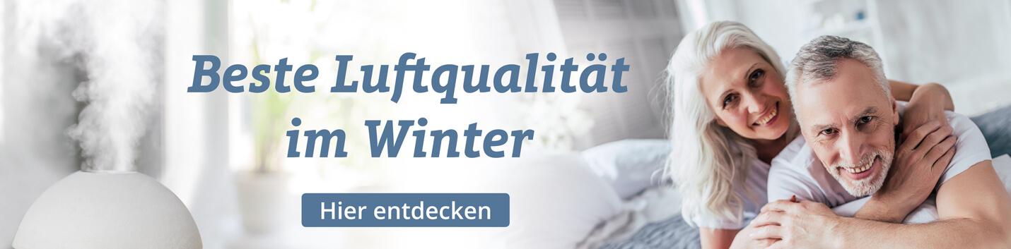 Luftqualität im Winter - ein wichtiger Aspekt des Wohlfühlens