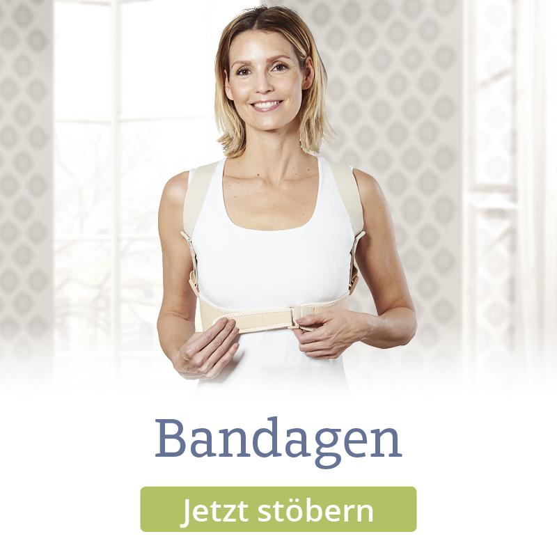 Stützgürtel und passende Bandagen für Sie