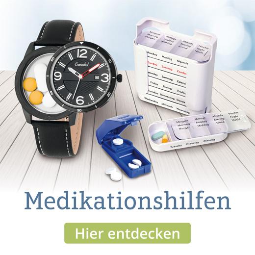 Entdecken Sie praktische Medikationshilfen, die ihren Alltag erleichtern werden