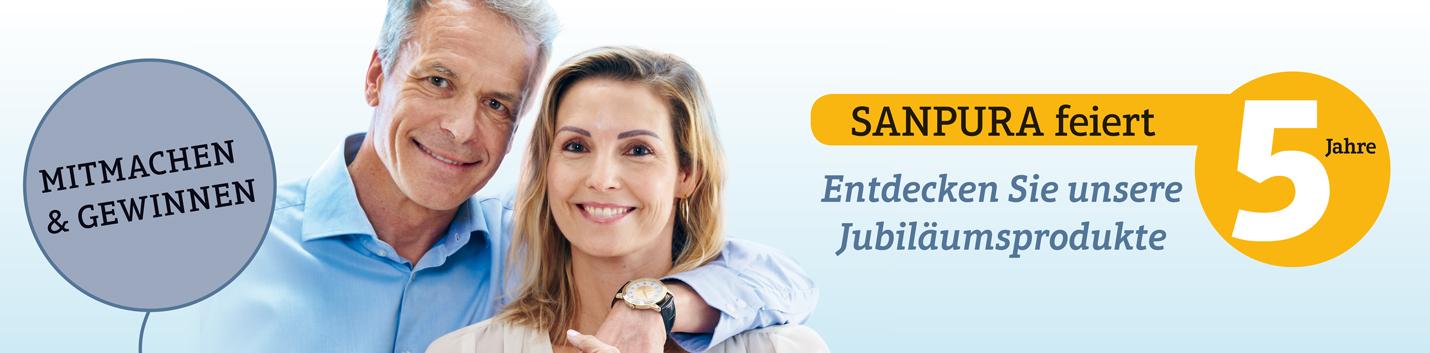 Jubiläumsprodukte SANPURA