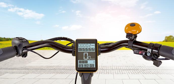 Lenker eines E-Bikes