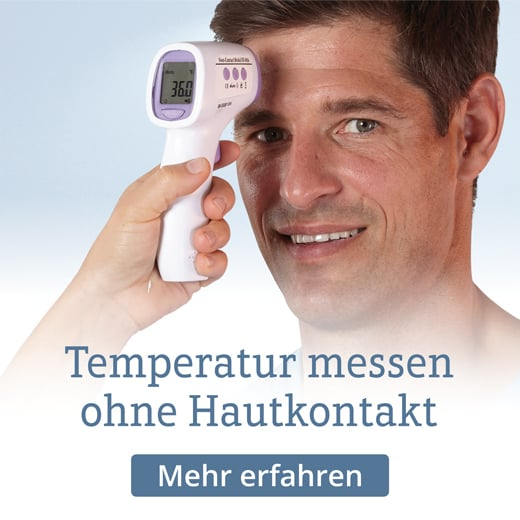 Technische Innovation - Temperatur messen ohne Hautkontakt