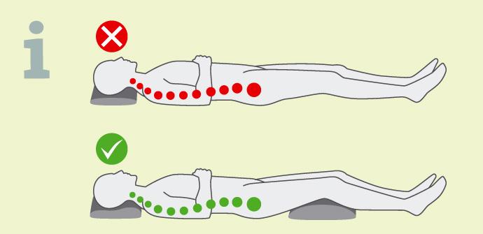Mit dem richtigen Kissen können Sie ihre Schlafposition deutlich verbessern
