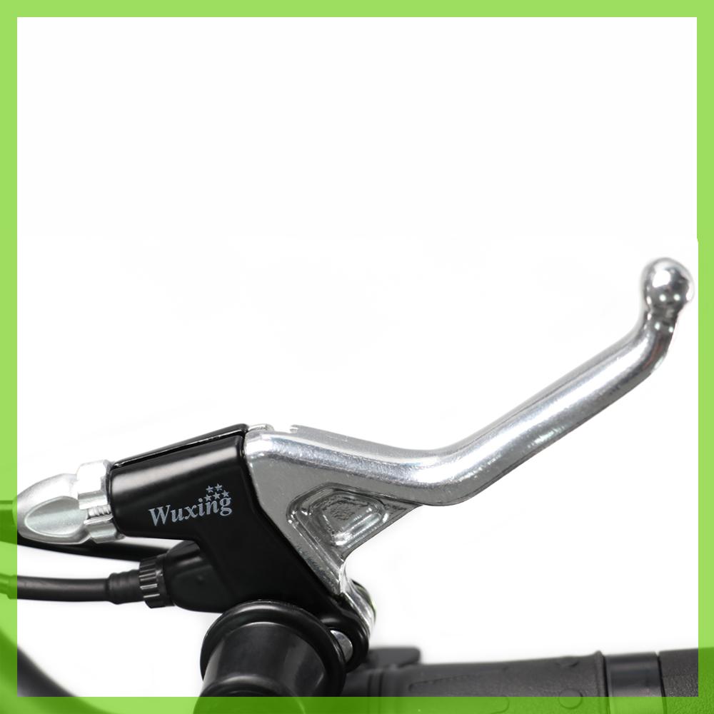 Die Hi-Q-Scheibenbremsen machen den E-Scooter besonders verkehrssicher