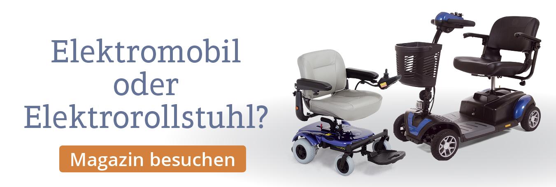 Vor- und Nachteile von Elektrorollstühlen und -mobilen