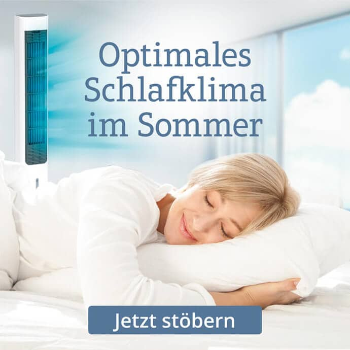 Mit kühlender Bettwäsche dem Sommer entgegen wirken