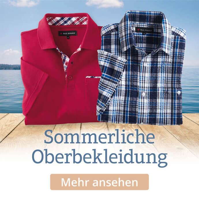 Sommerliche Oberbekleidung entdecken