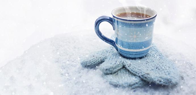 Drinnen in der Wärme ist es im Winter am gemütlichsten