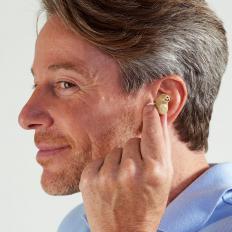 Aufladbarer Mini-Hörverstärker