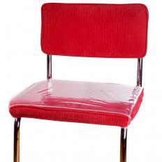 Transparente Sitzbezüge, 4 Stück