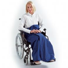 Rollstuhl-Wickeldecke, 150 x 114 cm