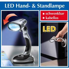 Hand- und Standlampe