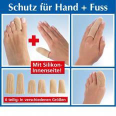 Finger und Zehenschutz Soft, 3 x 2 Stück