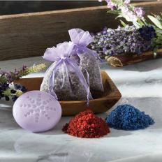 Lavendel-Set, 4-tlg