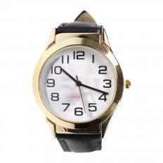Armbanduhr mit Leselupe
