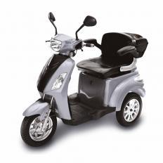 Elektro-Trike, silber