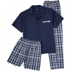 3-teiliges Pyjama-Set