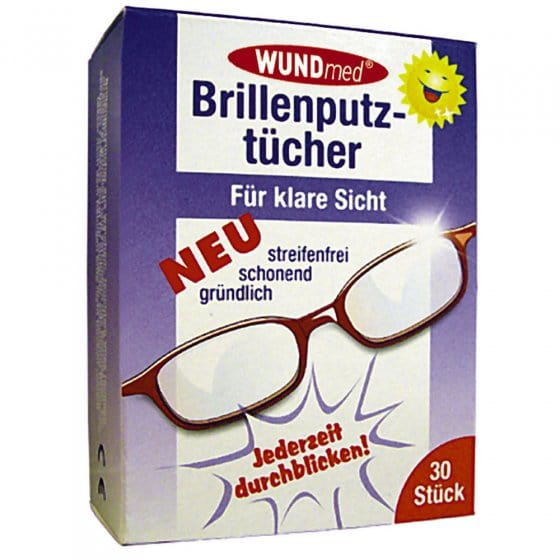Brillenputztücher (30 Stück)