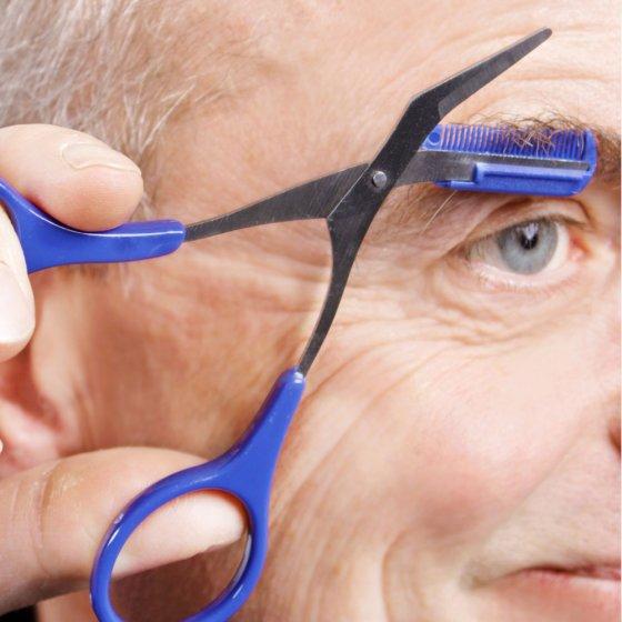 Augenbrauen-Schere