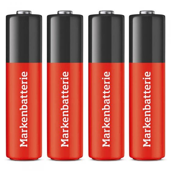 Passende Mignon-Batterien (AA) 4 Stück