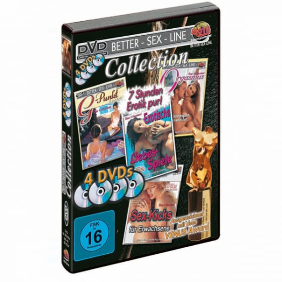 Erotik DVD-Kollektion