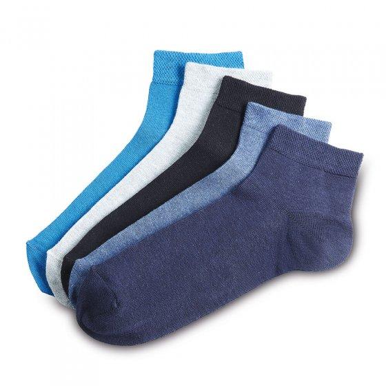 Kurzschaft-Socken 5er-Pack