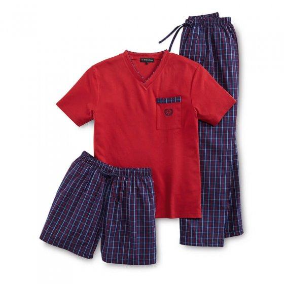 Dreiteiliger Schlafanzug