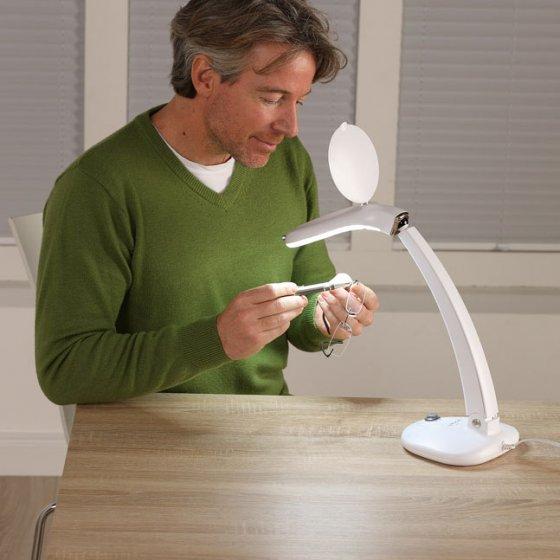 LED-Tischlupenlampe