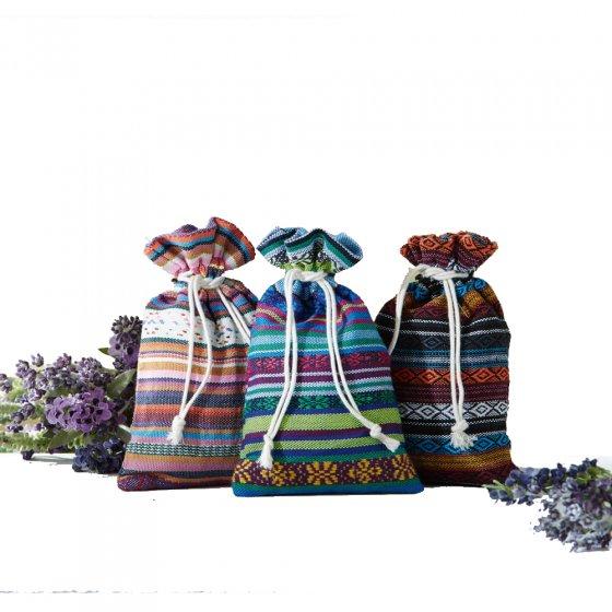 Lavendel-Duftsäckchen 3er-Set