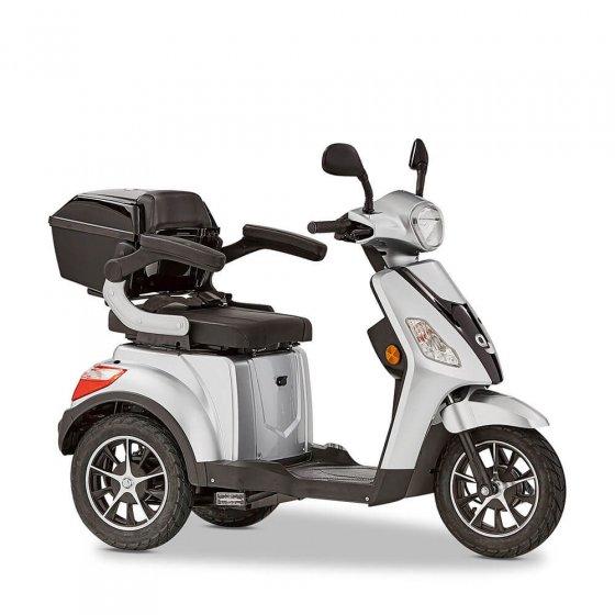 """3-Rad Elektromobil """"Bologna"""" 25 km/h Silber"""