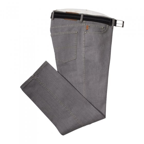 Unterbauch Komfortjeans,grau 58 | Grau