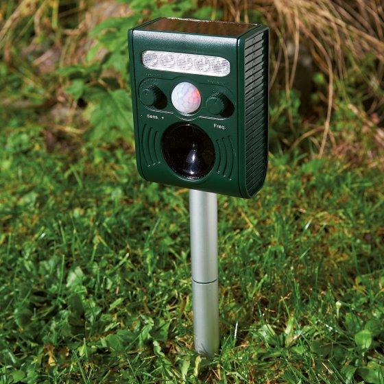 Mini-Solar-Ultraschall-Tiervertreiber
