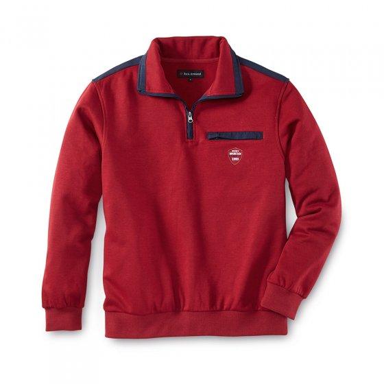 Thermo Sweatshirt, rot L | Rot