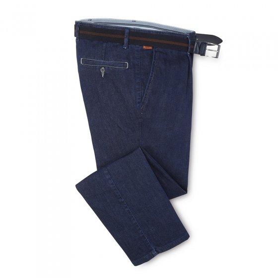 Bequeme Bundfalten-Jeans