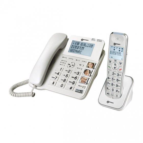 Großtastentelefon-Set