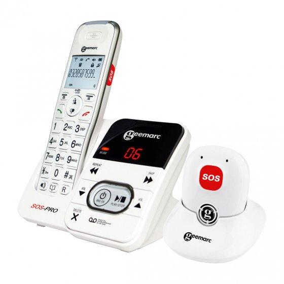 Schnurlostelefon mit Alarmgeber
