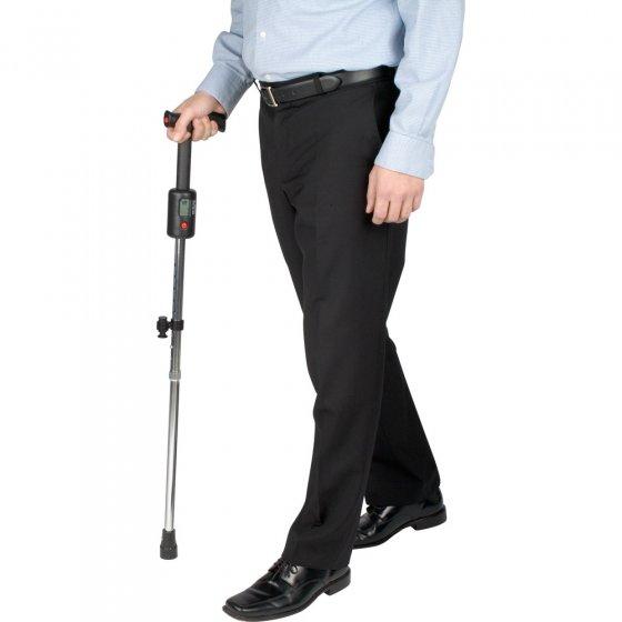 Spazierstock mit Schrittzähler