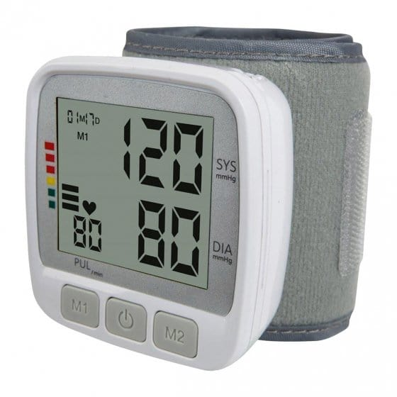 Handgelenk-Blutdruckmessgerät mit Großdisplay