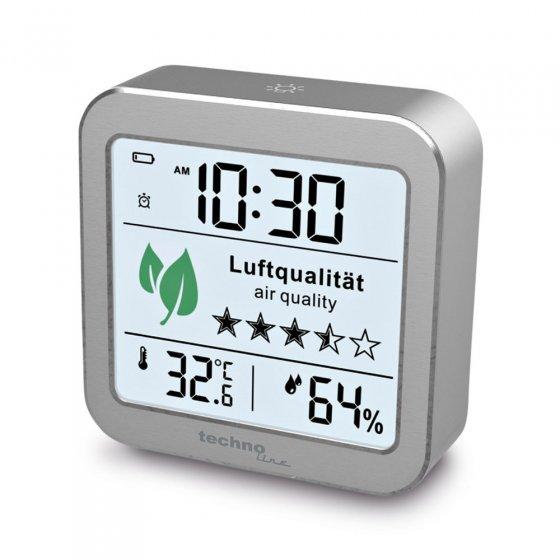 Wecker mit Luftgüte-Monitor