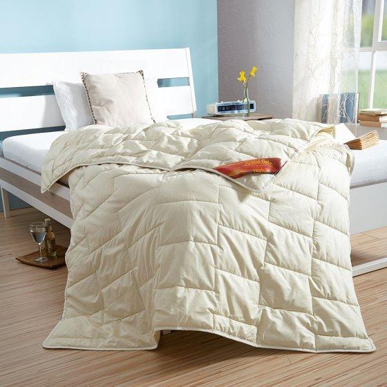 Bettdecke mit 100 % Seidenfüllung