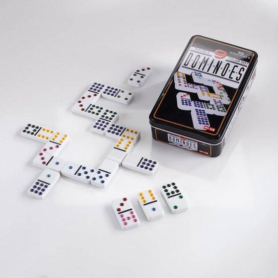 Grosses Domino-Doppel 9