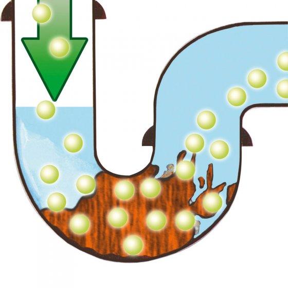 Rohr- und Abflussfrei-Granulat