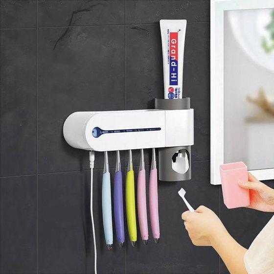 Antibakterieller Zahnbürsten-Halter